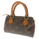 LOUIS VUITTON mini speedy M41534 handbag monogram canvas Lady's fs3gm