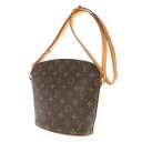 LOUIS VUITTON ドルーオ M51290 shoulder bag monogram canvas Lady's