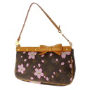 LOUIS VUITTON cherry blossom M92006 accessories porch monogram marron Lady's fs3gm
