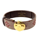 LOUIS VUITTON Good luck. breath M64448 bracelet micro monogram canvas Lady's fs3gm