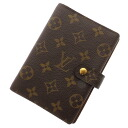 LOUIS VUITTON agenda PM R20004 notebook cover monogram canvas unisex fs3gm