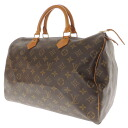35 LOUIS VUITTON speedy M41524 handbag / monogram canvas Lady's fs3gm
