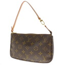 LOUIS VUITTON ポシェットアクセソワール M51979 accessories porch monogram canvas Lady's fs3gm