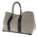 HERMES garden party tote bag canvas x leather Lady's fs3gm
