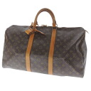 50 LOUIS VUITTON key Poll old M41426 Boston bag monogram canvas unisex fs3gm