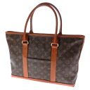 LOUIS VUITTON weekend PM M42425 tote bag monogram canvas Lady's fs3gm