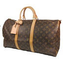 50 LOUIS VUITTON key Poll M41416 Boston bag monogram canvas unisex fs3gm