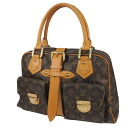 LOUIS VUITTON Manhattan GM M40025 shoulder bag monogram canvas Lady's