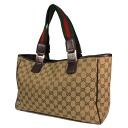 145753 2684 GUCCI GG pattern shoulder bag canvas X leather Lady's fs3gm