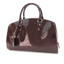 LOUIS VUITTON ポンヌフ PM electric M59072 handbag patent leather Lady's fs3gm