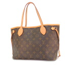 LOUIS VUITTON never full PM M40155 tote bag monogram canvas Lady's fs3gm