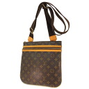 LOUIS VUITTON pochette boss four M40044 shoulder bag monogram canvas Lady's fs3gm