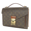 28 LOUIS VUITTON mon so M51185 second bag monogram canvas men fs3gm