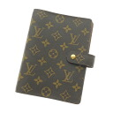 LOUIS VUITTON agenda MM R20004 notebook cover monogram canvas unisex fs3gm