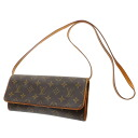 LOUIS VUITTON pochette twin GM M51852 shoulder bag monogram canvas Lady's fs3gm