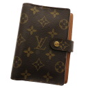 LOUIS VUITTON agenda PM R20004 notebook cover monogram canvas is unisex