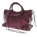 BALENCIAGA the city handbag leather Lady's fs3gm