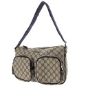 GUCCI GG pattern logo shoulder bag PVC Lady's fs3gm belonging to