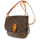 24 LOUIS VUITTON sun crew M51244 shoulder bag monogram canvas Lady's fs3gm