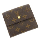 LOUIS VUITTON Porto Foy Yue Leeds W hook M61652 folio wallet (there is a coin purse) monogram canvas Lady's upup7