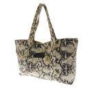 SEE BY CHLOE snake print tote bag nylon material ladies upup7