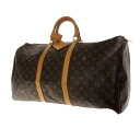 55 LOUIS VUITTON key Poll M41414 Boston bag monogram canvas unisex upup7