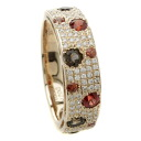 SELECT JEWELRY color stone / diamond ring, ring K18 pink gold Lady's upup7