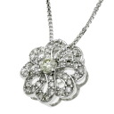 SELECT JEWELRY diamond necklace K18 white gold Lady's upup7