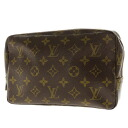LOUIS VUITTON toe Ruth toilette M47524 makeup porch monogram canvas Lady's upup7