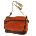 COACH square shoulder bag canvas X leather unisex upup7