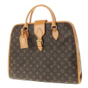 LOUIS VUITTON Rivoli M453380 handbag monogram canvas unisex upup7