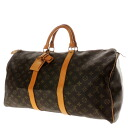 50 LOUIS VUITTON key Poll M41416 Boston bag monogram canvas unisex upup7