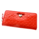 COACH signature bottle tit wallet (there is a coin purse) enamel Lady's upup7