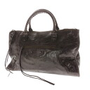 BALENCIAGA editors bag handbag leather Lady's upup7
