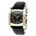 BVLGARI AAP44BGLD watch K18 pink gold / leather men upup7