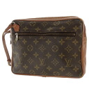 LOUIS VUITTON band re-yell discontinuance of making second bag monogram canvas men upup7