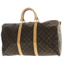 50 LOUIS VUITTON key Poll M41416 key no Boston bag monogram canvas unisex upup7