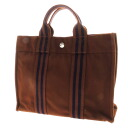 HERMES case fool toe PM tote bag canvas unisex upup7