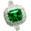 SELECT JEWELRY emerald / diamond ring, ring platinum PT900 Lady's upup7