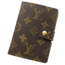 LOUIS VUITTON Palm case palm notebook cover monogram canvas Lady's upup7