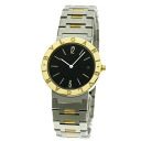 BVLGARI BB33SGD watch stainless steel /K18YG men upup7
