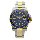 ROLEX submarina date 116613LB watch stainless steel /K18YG men upup7