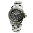 CHANEL J12 chromatic scale watch stainless steel Lady's upup7