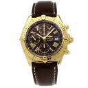 BREITLING Kurono mat K13055 watch stainless steel / leather men upup7