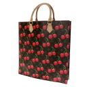 LOUIS VUITTON cherry case plastic M95010 tote bag monogram cherry canvas Lady's upup7