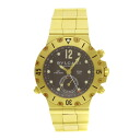 BVLGARI scuba diving equipment GMT SD38G GMT watch K18 yellow gold men upup7