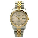 116231 ROLEX date just watch stainless steel /PG men upup7