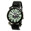 Gaga Milano マヌアーレ watch PVD men upup7
