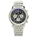 BREITLING navigator timer Cosmo notebook A22322 watch stainless steel men upup7