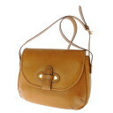 Authentic House of Florence  Flap Shoulder Bag Leather